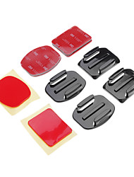 cheap -Adhesive Mounts Mount / Holder For Action Camera Gopro 5 Gopro 3 Universal Auto Military Snowmobiling Aviation Film and Music Hunting and