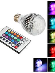 cheap -SENCART 1pc 7 W 650 lm E26 / E27 LED Smart Bulbs 1 LED Beads Integrate LED Dimmable / Remote-Controlled / Decorative RGB 85-265 V / RoHS
