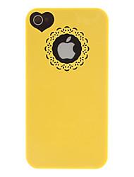billiga -fodral Till iPhone 4/4S Apple Skal Hårt PC för iPhone 4s/4