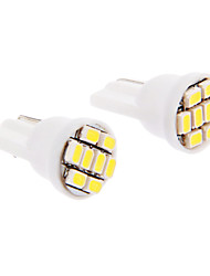 cheap -SO.K T10 Car Light Bulbs SMD LED 30-60 lm Interior Lights For universal
