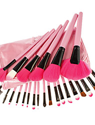 billiga -Professionell Makeupborstar Borstsatser 24pcs Syntetiskt Hår / Artificiella Fiber-borstar Sminkborstar för Makeupborstset