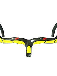 Bicicletta Manubrio Bici da strada Giallo / Nero Completamente in Carbonio