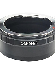 EMOLUX  Olympus OM lens To Micro 4/3 m4/3 Adapter for  E-P1 E-P2 E-P3 G1 GF1 GH1 G2 GF2 GH2 G3 GF3
