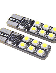 cheap -T10 Car Cold White 1W SMD 3528 6000-6500 Instrument Light Turn Signal Light