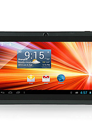 A33 7 дюймов Android Tablet (Android 4.4 1024*600 Quad Core 512MB RAM 8GB ROM)