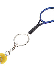 Key Chain Baseball Classic & Timeless Key Chain Blue / Yellow Plastic