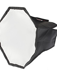 Octangle Folding Speedlight Flash Soft Box (Black + Silver, M-Size)