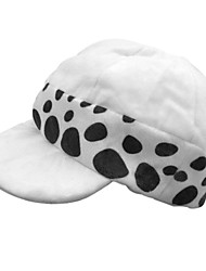 cheap -Hat/Cap Inspired by One Piece Trafalgar Law Anime Cosplay Accessories Hat Polyester Men's