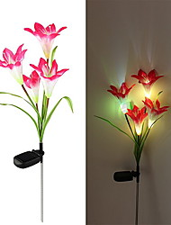 Solar LED Flower Light (1049-CIS-28077) High Quality Outdoor Lighting