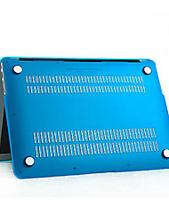 abordables -MacBook Funda Color sólido El plastico para MacBook Air 13 Pulgadas / MacBook Air 11 Pulgadas