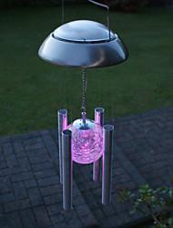 cheap -Colorful Light LED Solar Light Outdoor Solar Wind Chime Light