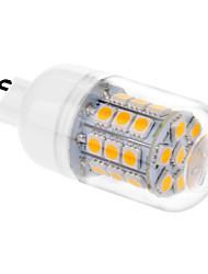 3.5 G9 LED Mais-Birnen T 31 Leds SMD 5050 Warmes Weiß 200-250lm 2500-3500K AC 220-240V