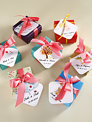 Personalized Favor Tags - Set of 36 (More Designs) Wedding Favors