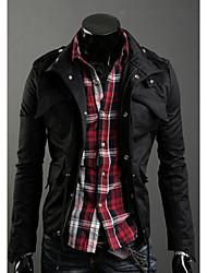 Shangdu Fashion addensare cappotto (nero)