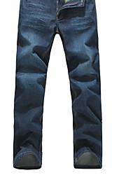 baratos -Homens Básico Jeans Calças Calças - Sólido