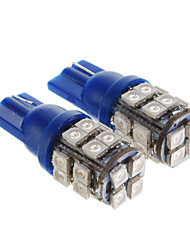 T10 Car Blue SMD 3528 Brake Light Door lamp Instrument Light Reading Light Side Marker Light