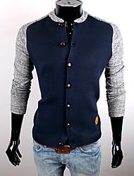 CUBFACE Herre Royal Blå Classic Splejsning Coat