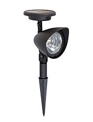 economico -Lampadine LED luce 1pcs prato solare luce del punto solare 3 luminoso per giardino (CIS-57140)