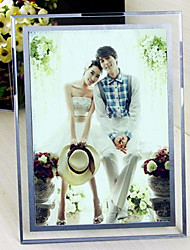 "6""H Modern Style Creative Rectangular Glass Picture Frame"