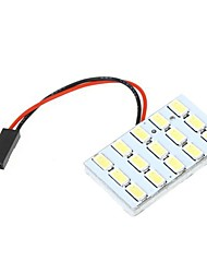 cheap -5630 SMD 15 LED White Light for Car Interior with 3 Adapters