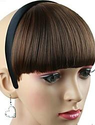 donne parrucchino sintetico con fibra resistente al calore del cerchio dei capelli fascia per capelli a basso costo partito cosplay