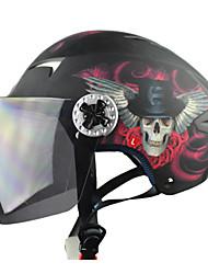 お買い得  -t505-5 ABS材料レース抗UVバイクレースハーフヘルメット(オプション色)