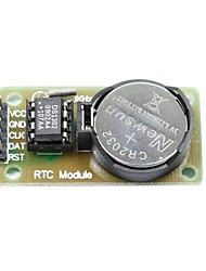 cheap -DS1302 Real Time Clock Module with Battery CR2032 for (For Arduino) (Works with Official (For Arduino) Boards)