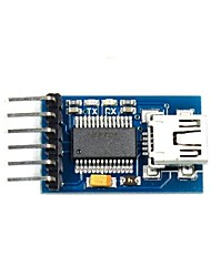 cheap -FT232RL USB to Serial 232 TTL Adapter Module for Funduino - Blue (3.3~5V)