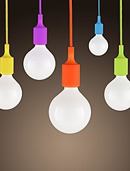 SL® Mini Pendant, 1 Light, Modern Minimalist Silicone Candy Colors