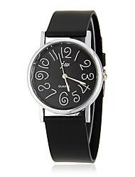 cheap -Women's Quartz Wrist Watch Hot Sale Silicone Band Charm Fashion Black