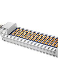 Lâmpadas Espiga T 60 leds SMD 5050 Regulável Branco Quente 1080lm 3000-3500K AC 85-265V