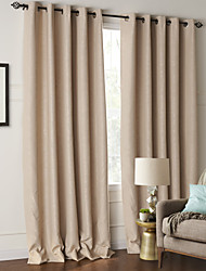 cheap -Two Panels Curtain Modern Living Room Polyester Material Blackout Curtains Drapes Home Decoration For Window