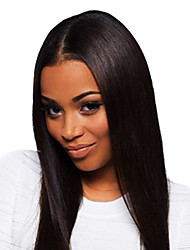 """20"""" Queen Hair Products Glueless Brazilian Remy Human Hair Lace Front Wig"""
