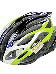 cheap -FJQXZ Integrally-molded EPS+PC Green Cycling Helmets (21 Vents)