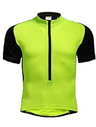 cheap -Jaggad Cycling Jersey Women's Men's Unisex Short Sleeve Bike Jersey Tops Quick Dry Breathable Polyester Elastane Patchwork Summer