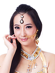 Dance Accessories Jewelry Women's Training Metal Coins