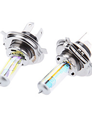 cheap -H4 60/55W 12V Car Halogen Light Bulb Filled with Xenon Yellow Light