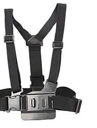 Harnais Poitrine / Sangle de poitrine Avec Bretelles Bretelles d'épaule Fixation Pour Caméra d'action Gopro 5 Gopro 3 Gopro 3+ Gopro 2