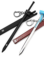 cheap -Cosplay Accessories Inspired by Sword Art Online Kirito Anime Cosplay Accessories Sword Keychain Men's Women's