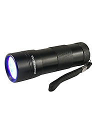 cheap -D09UV-1-0-1 Black Light Flashlights/Torch LED lm 1 Mode 5mm Lamp Waterproof Ultraviolet Light Camping/Hiking/Caving Everyday Use Hunting