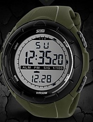 cheap -SKMEI® Men's Watch Sports LCD Digital  Chronograph Calendar Water Resistant Multifunction Cool Watch Unique Watch Fashion Watch