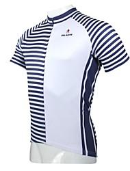 ILPALADINO Maillot de Ciclismo Hombre Manga Corta Bicicleta Camiseta/Maillot Top Secado rápido Resistente a los UV Transpirable 100%
