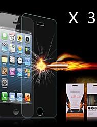 abordables -Último Choque Protector de pantalla de absorción para el iPhone 4/4S (3PCS)