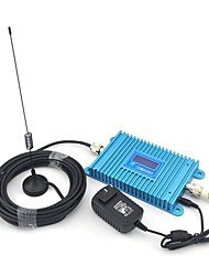 LCD Display CDMA 850Mhz Mobile Phone CDMA980 Signal Booster ,Signal Booster + Indoor Antenna + Sucker Antenna with 10m Cable