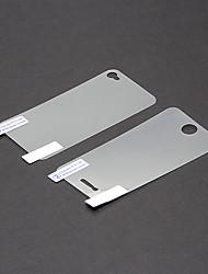 Protector de pantalla para Apple iPhone 4s/4 1 pieza Protector de Pantalla Posterior y Frontal Alta definición (HD)