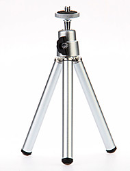 cheap -I-12-3-SL Mini Desktop Aluminum Tripod with Single-deck Three Sections (Sliver)