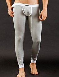 cheap -Men's Super Sexy Long Johns Solid Colored 1box