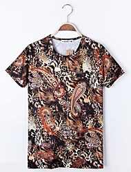 cheap -Men's Chic & Modern T-shirt - Leopard, Print