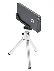 cheap -I-12-2-SL Mini Desktop Aluminum Tripod with Single-deck Two Sections & iPhone 5S/5 Tripod Mount Holder