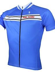 ILPALADINO Cykeltrøje Herre Kortærmet Cykel Trøje Toppe Cykeltøj Hurtigtørrende Ultraviolet Resistent Åndbart Fritidssport Cykling / Cykel